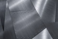 Steel texture background. Silver cold  iron metal texture Stock Photography