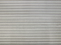 Steel texture corrugated sheet pattern Royalty Free Stock Image