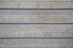 Steel texture corrugated sheet pattern. Closeup shot of a unique stainless steel corrugated sheet with brushed textures Royalty Free Stock Photos