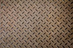 Steel texture from Manhole cover Stock Photos