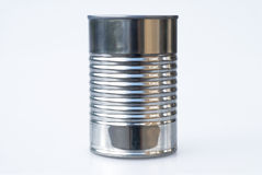Steel Tin Can. Generic Steel Tin Can with no label royalty free stock photos