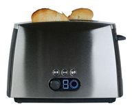 Steel toaster Royalty Free Stock Photography