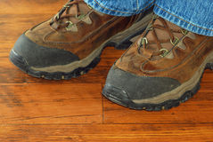 Steel Toe Boots Stock Photos