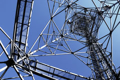 Steel transmitter Stock Photography