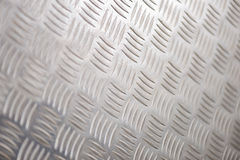 Steel Tread Plate for Backgrounds Royalty Free Stock Photos