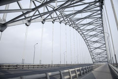 Free Steel Truss Arch Bridge Stock Image - 48735551