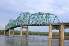 Steel Truss Bridge Stock Images