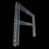 Steel truss girder element Royalty Free Stock Image