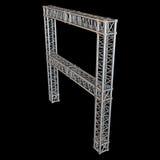 Steel truss girder element Stock Images