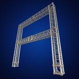Steel truss girder element Royalty Free Stock Photography
