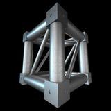 Steel truss girder element Stock Image