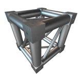 Steel truss girder element Royalty Free Stock Photos