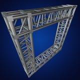 Steel truss girder element Royalty Free Stock Photo
