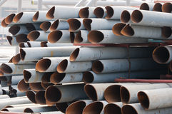 Steel tube Stock Photography
