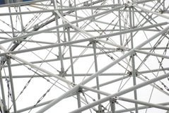 The steel tube structure Stock Image