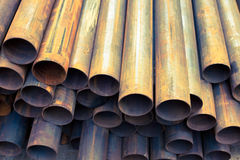 Steel tubes Royalty Free Stock Photos
