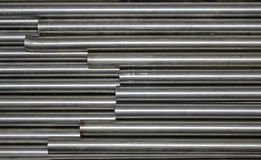 Steel tubes Royalty Free Stock Photography
