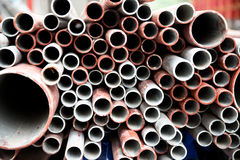 Steel tubes Stock Photo