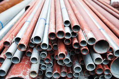 Steel tubes Royalty Free Stock Image
