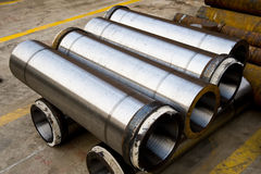 Steel tubing Royalty Free Stock Photography