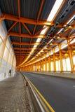 Steel tunnel Stock Photo