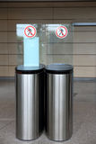 Steel turnstile Royalty Free Stock Photography