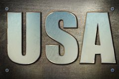 Steel USA concept Royalty Free Stock Photography