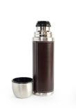 Steel Vacuum Flask Stock Photography