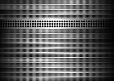 Steel vector background. Perforated steel background with stripes of metal Royalty Free Stock Photography