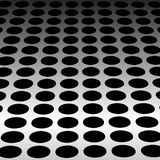Steel vector background. Perforated steel abstract dotted background vector illustration