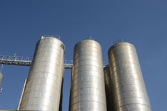 Steel vessels Royalty Free Stock Images
