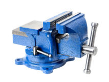 Steel vise Royalty Free Stock Photos