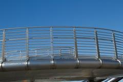 Steel walkway. Royalty Free Stock Image