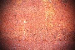 Steel walkway mats sprayed red rust. Royalty Free Stock Photography