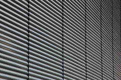 Steel wall. Outside wall on a shopping center at Tockfors in Sweden royalty free stock images