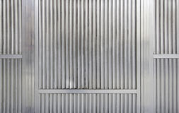 Steel wall Royalty Free Stock Photography