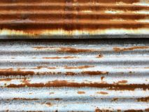 Steel wall Royalty Free Stock Photo