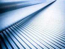 Steel wall and a tube. Nice abstract background Royalty Free Stock Images