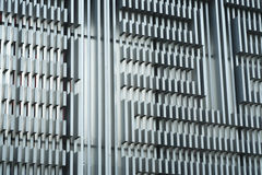 Steel Walls Royalty Free Stock Photo