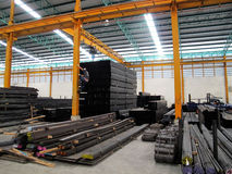 Free Steel Warehouse Storage Royalty Free Stock Photography - 39555847