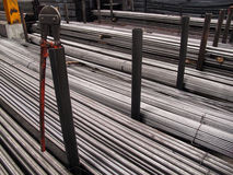 Steel warehouse Storage Royalty Free Stock Photography