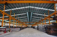 Steel warehouse Storage Stock Photos
