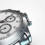Steel watch Royalty Free Stock Photo