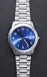 Steel watch Stock Photos