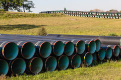 Free Steel Water Pipes Construction Stock Photos - 26817833
