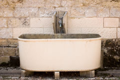 Steel Water Trough Stock Photos