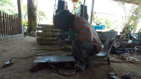 Steel welding stock video
