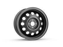 Steel wheel rim royalty free stock image