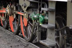 Steel wheels Stock Image