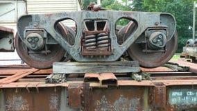 Steel Wheels Royalty Free Stock Photos